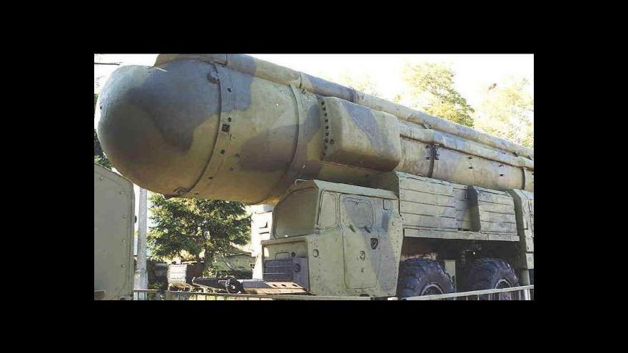 Video Černý: Rusko a USA se shodnou na nešíření jaderných zbraní