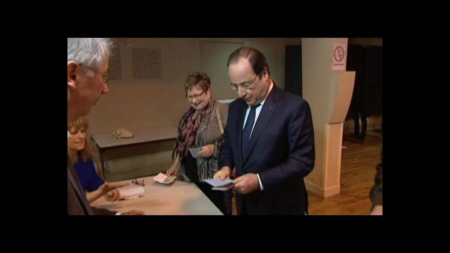 Video Volby ve Francii potvrdily propad důvěry Hollandově vládě