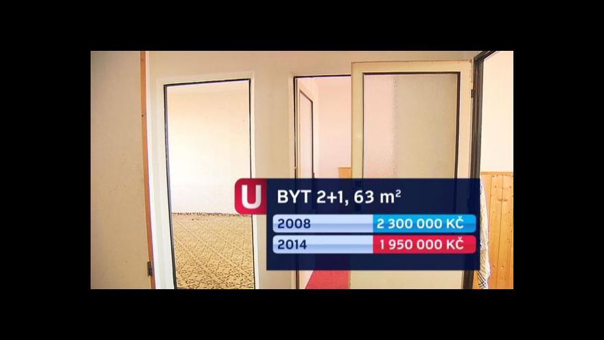 Video Události: Ceny panelových bytů oproti minulým letům klesly