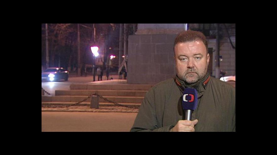 Video Zpravodaj Karas: Ukrajinští vojáci na Krymu zůstávají