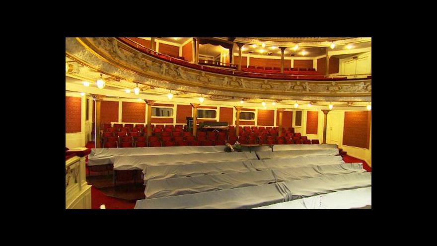 Video Budova Divadla F. X. Šaldy je v havarijním stavu