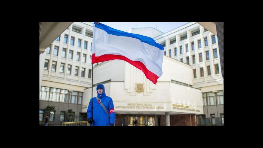 Video Rusko dokončilo anexi Krymu, Ukrajina podepsala smlouvu s Unií