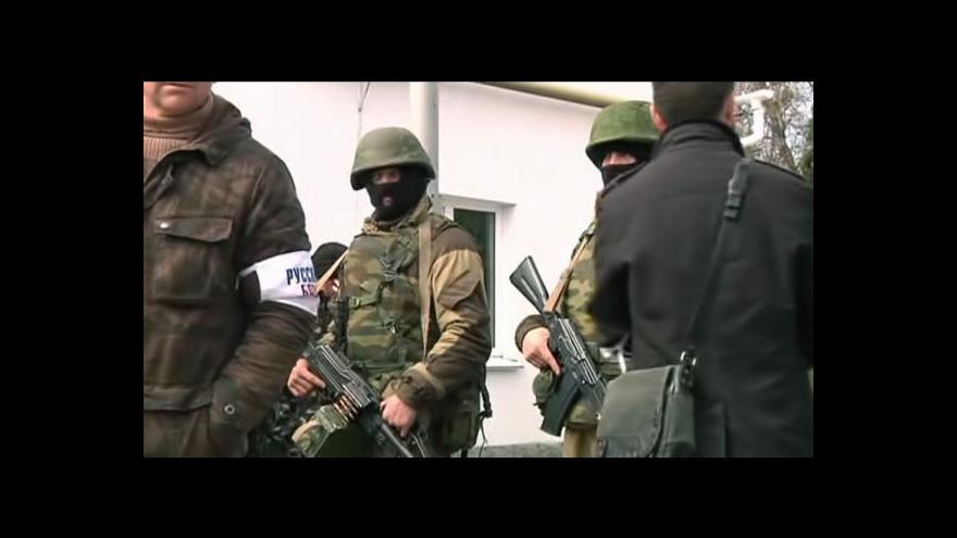 Video Zpravodaje ČT krátce zadrželi na Krymu