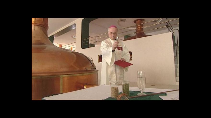 Video Velikonoční pivo z Plzně poputuje až do Vatikánu