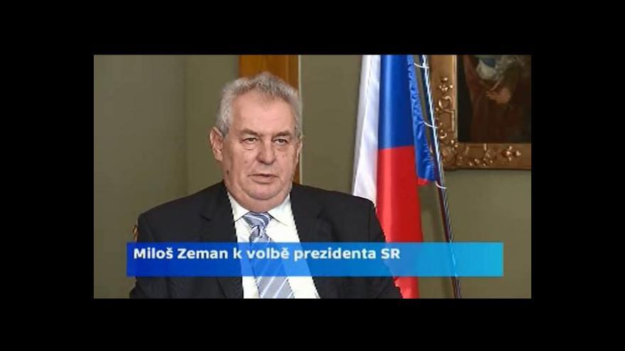 Video Zeman: Podporuji Roberta Fica