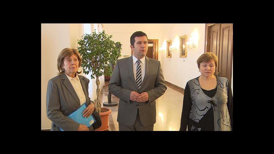 Video Hamáček jednal se zástupci volyňských Čechů