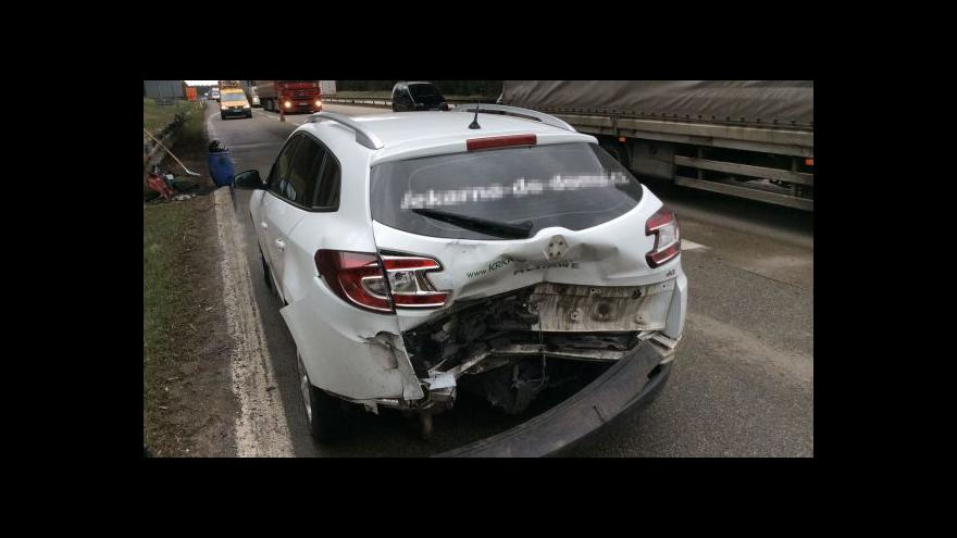 Video No comment: Dopolední nehoda na dálnici D1