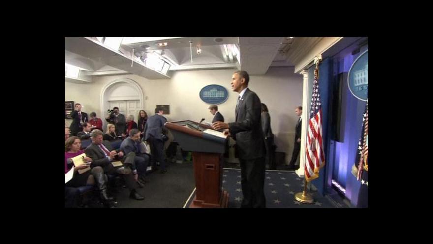 Video Obama a Merkelová chtějí okamžitě pozorovatele na Ukrajině
