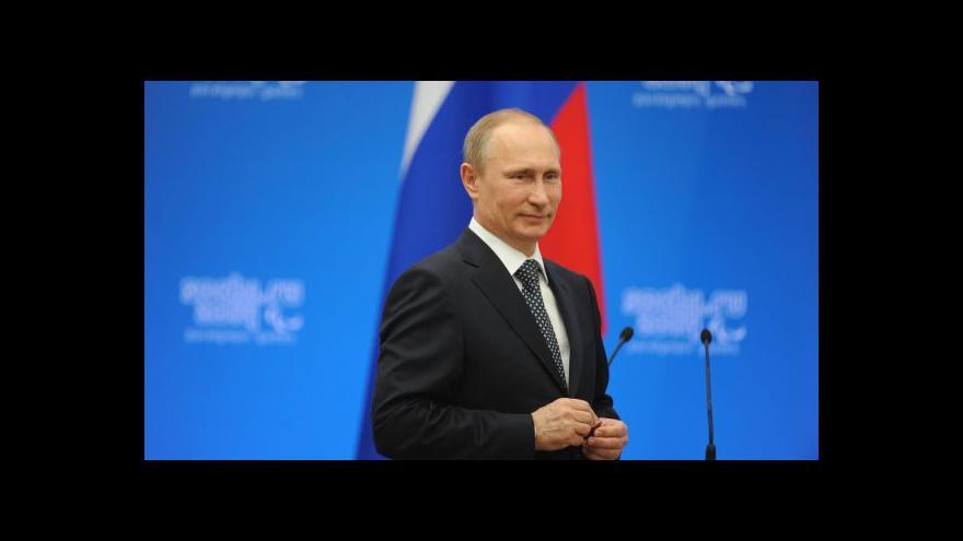 Video Putin podepsal smlouvu o připojení Krymu k Ruské federaci
