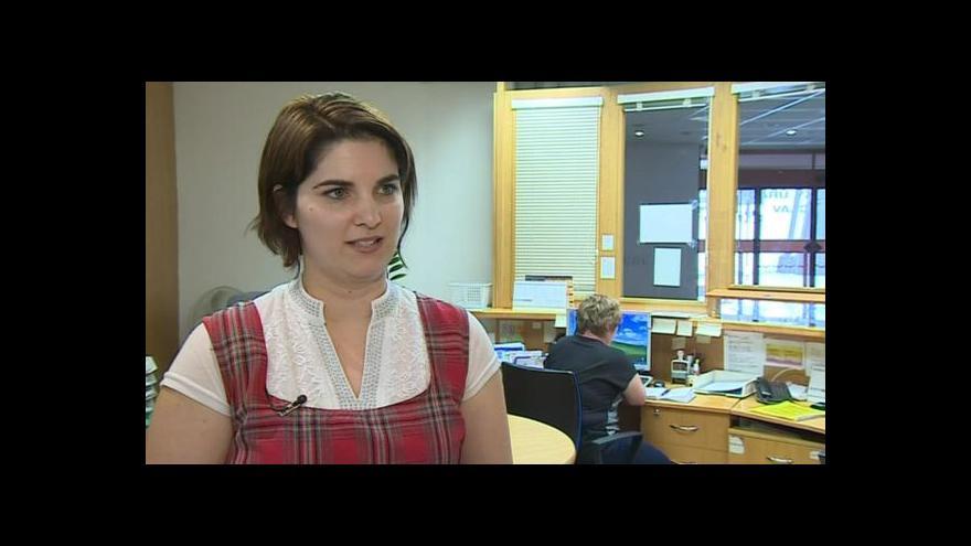Video Hovoří mluvčí břeclavské radnice Eliška Windová
