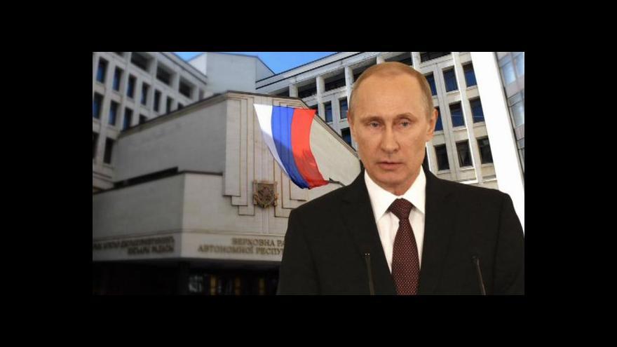 Video Události: Putin se nechal oslavovat jako národní hrdina