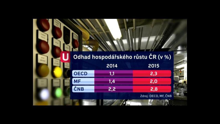 Video Události: Rady Česku od OECD