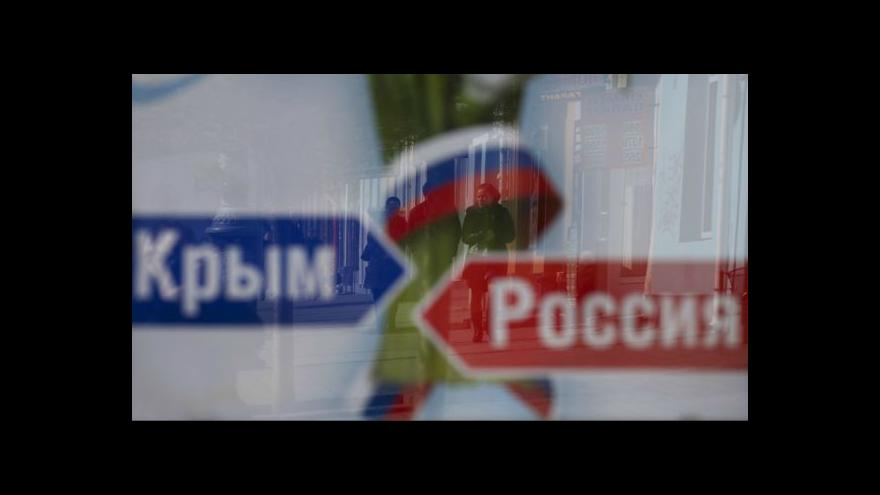 Video Události: Krym vyhlásil samostatnost