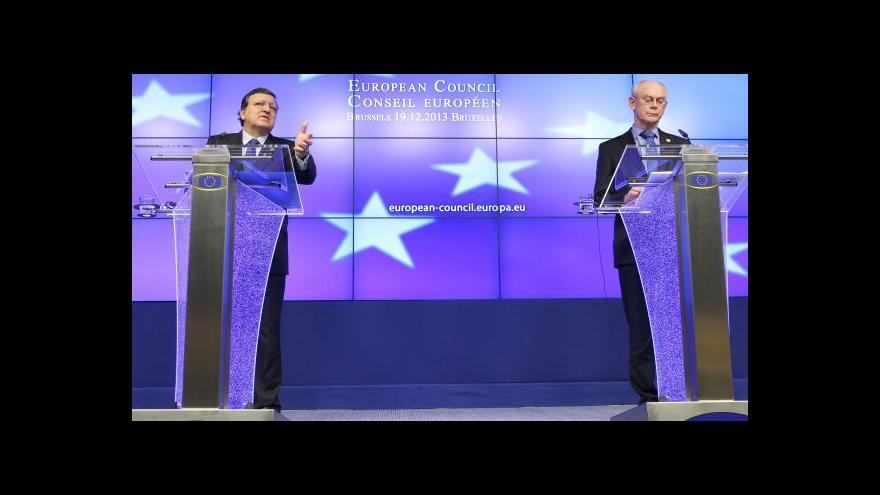 Video Zpravodaj ČT v Bruselu: Evropské sankce by měly začít platit okamžitě