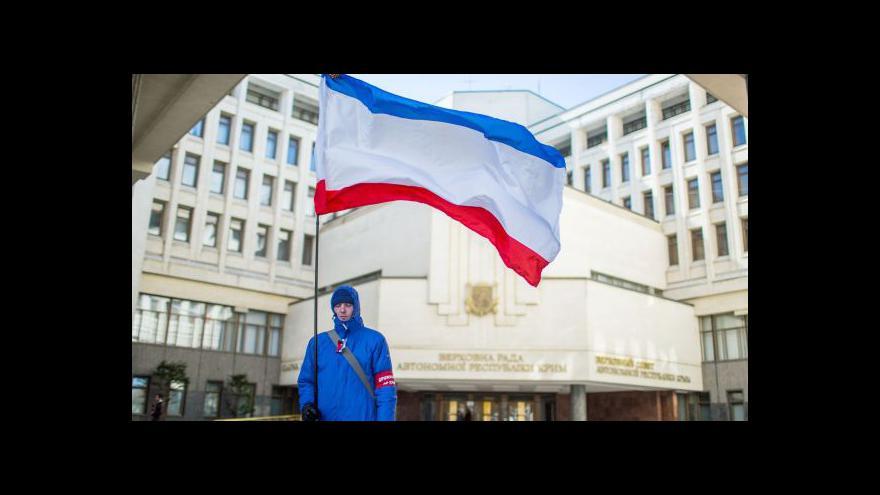 Video Pazderka: Na Krymu je dnes volný den, aby lidé mohli slavit