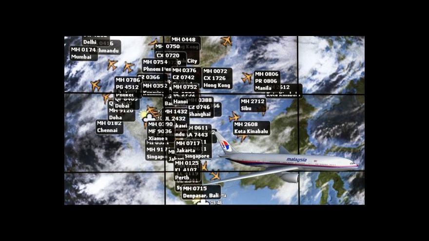 Video Záhada letu MH 370 stále není rozluštěna
