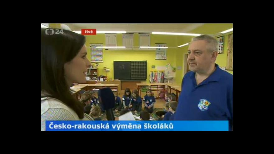 Video Rozhovor s ředitelem ZŠ Dyjákovice Romanem Štruncem o společné výuce
