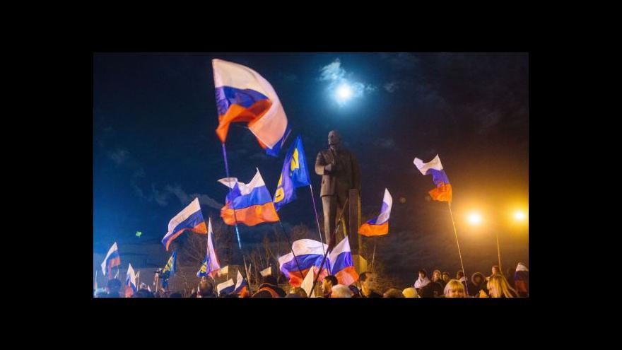 Video Bez komentáře - Oslavy výsledků referenda na Krymu