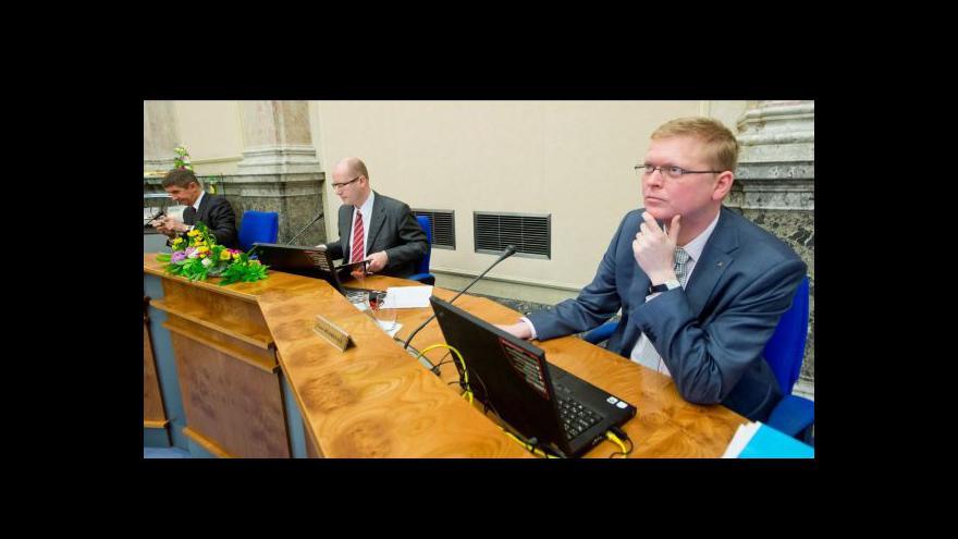 Video Nové vládní výbory tématem Událostí