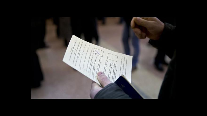 Video Reportáž: Referendum na Krymu zatím bez incidentů