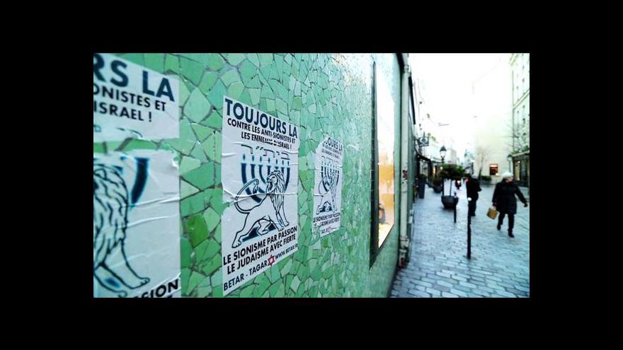 Video Francouzští Židé míří hojně do Izraele