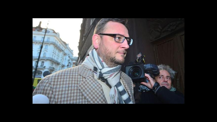 Video Šéf ÚOOZ Šlachta byl před zásahem na vládě před odvoláním