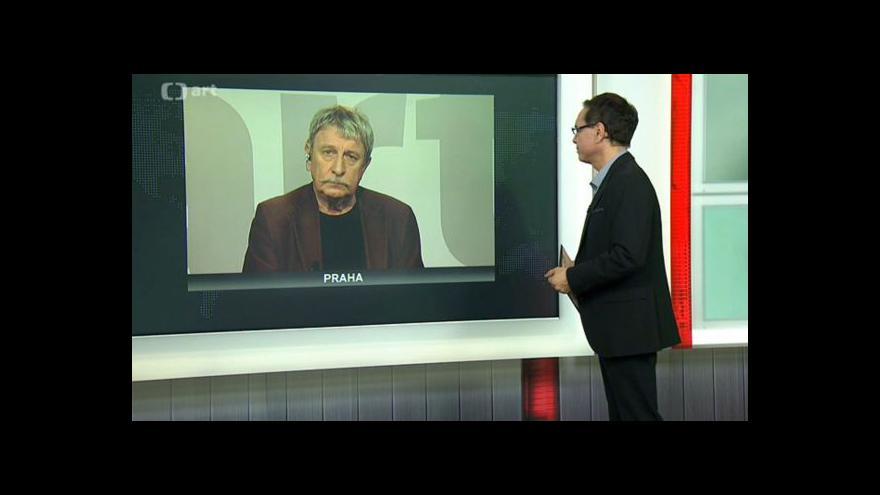 Video Překladatel a bývalý editor samizdatu Tomáš Vrba v Událostech v kultuře