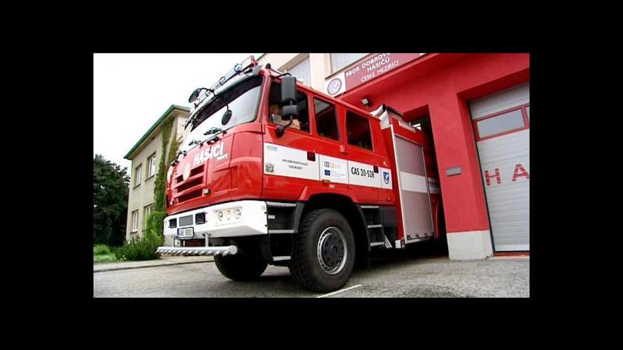 Video Pardubice řeší, co s řidiči, kteří si nevědí rady s hasiči