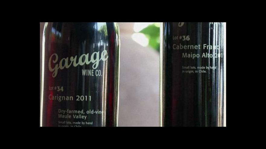 Video Chile cílí na bohaté milovníky vína