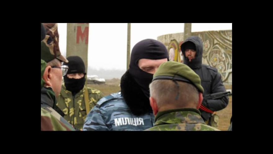 Video Dění na poloostrově kontroluje krymská domobrana