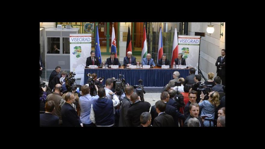 Video Steinmeier: Na diplomatickou dohodu s Ruskem není naděje