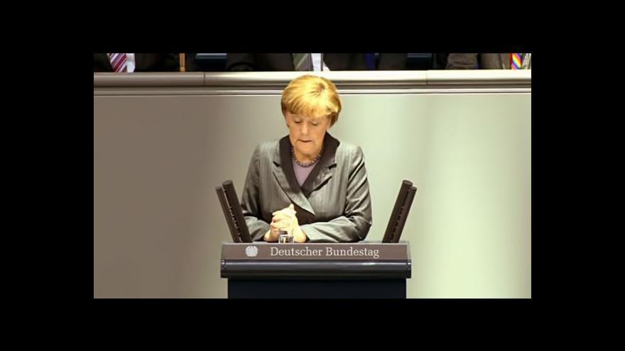 Video Ostrá slova Angely Merkelové na adresu Moskvy