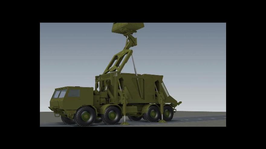 Video Události o česko-slovenském 3D radaru