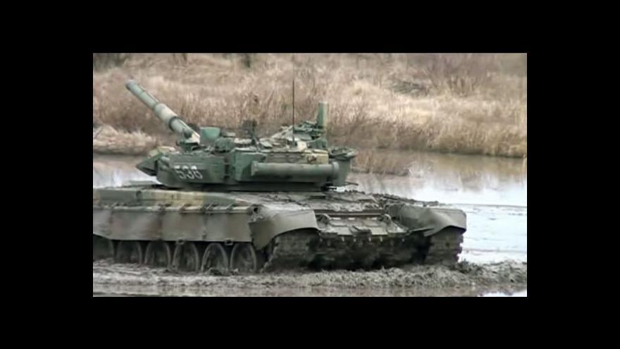 Video Rusko zahájilo vojenské manévry u hranic s Ukrajinou