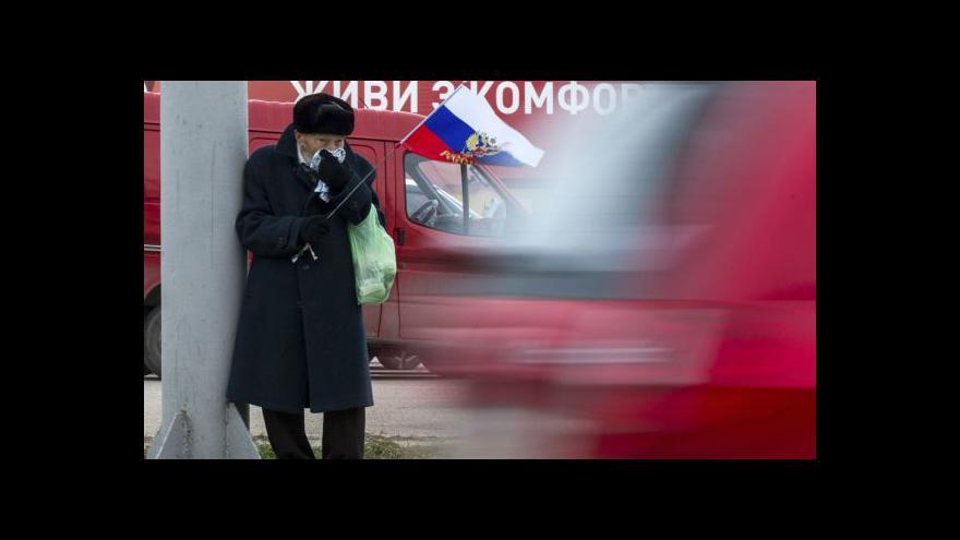 Video Události: Rusku hrozí kvůli Krymu další sankce