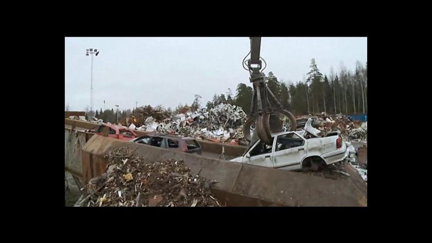 Video Recyklace aut: Užitečná jsou i poté, co doslouží