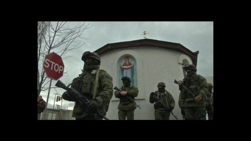 Video Turčynov: Kyjev na Krymu nezasáhne