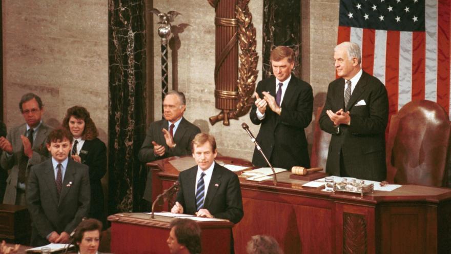 Video Projev prezidenta Václava Havla v Kongresu USA