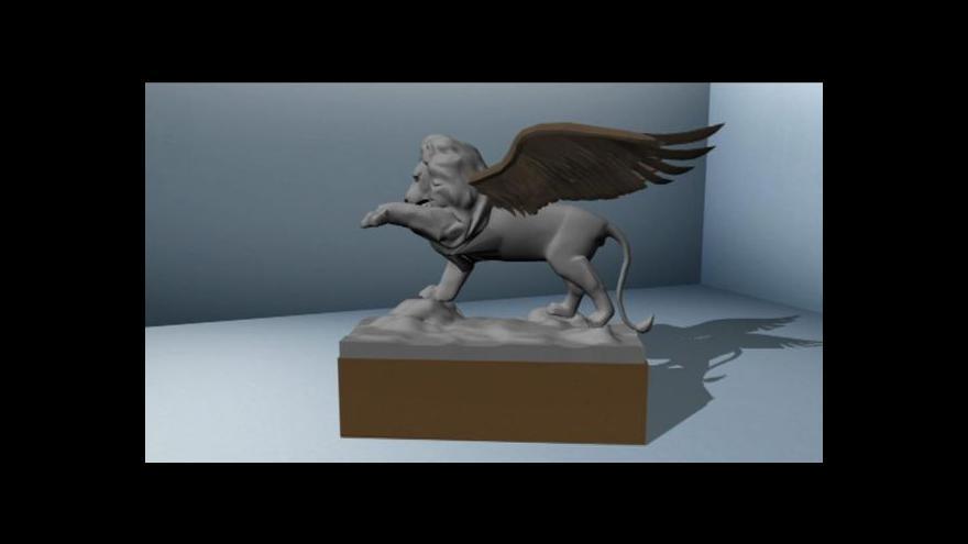 Video Československé piloty RAF bude připomínat okřídlený lev