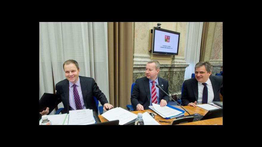 Video Události o návrhu legislativního plánu vlády