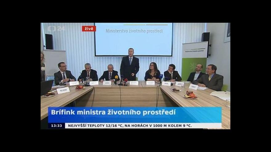 Video Brabec: Ministerstvo může přijít o 13 miliard z EU