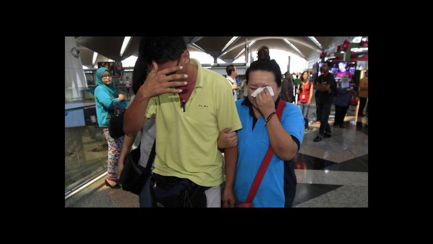 Video Události: Záhada ztraceného malajsijského letadla