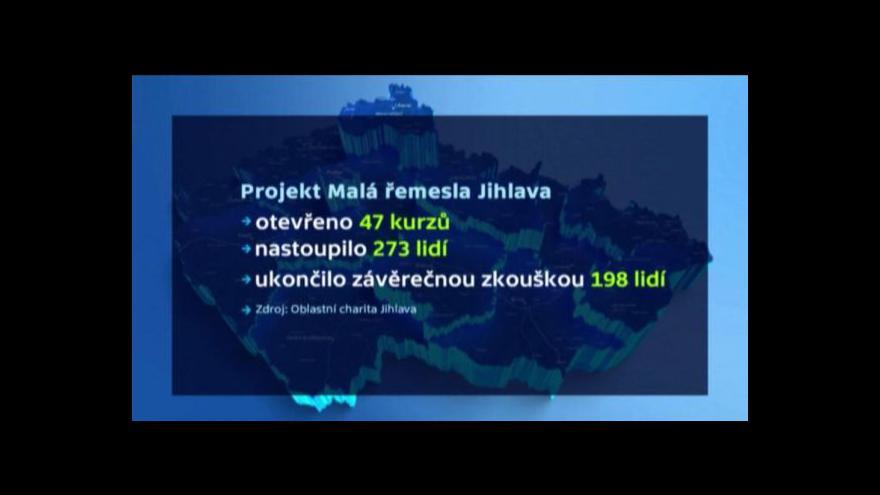Video Konec projektu Malá řemesla