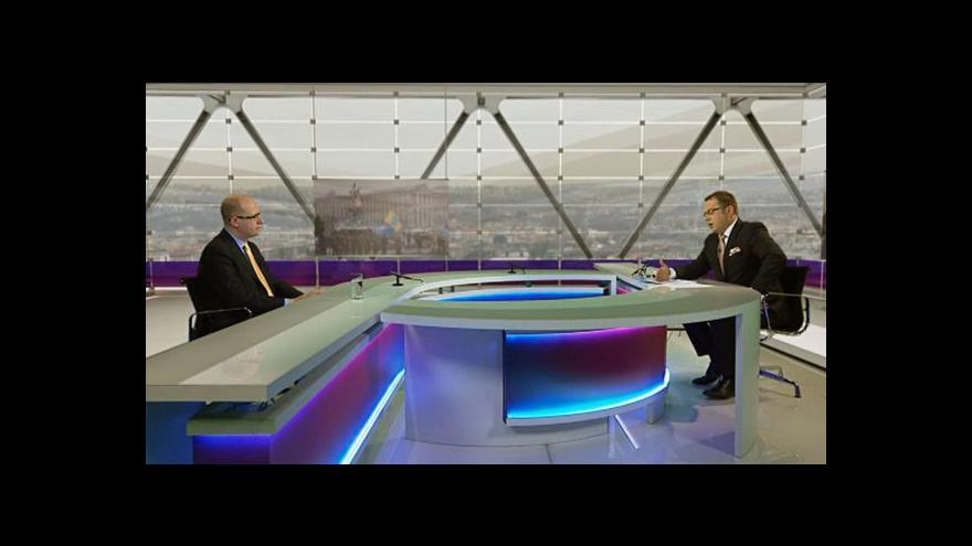 Video Bohuslav Sobotka v Otázkách Václava Moravce