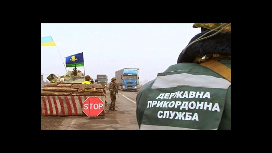 Video Ruské síly rozšiřují blokádu Krymu (23:00)