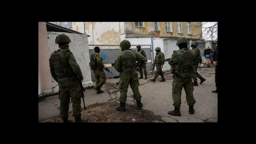 Video Armádní generál Šedivý: Je evidentní, že má dojít k úplné izolaci Krymu