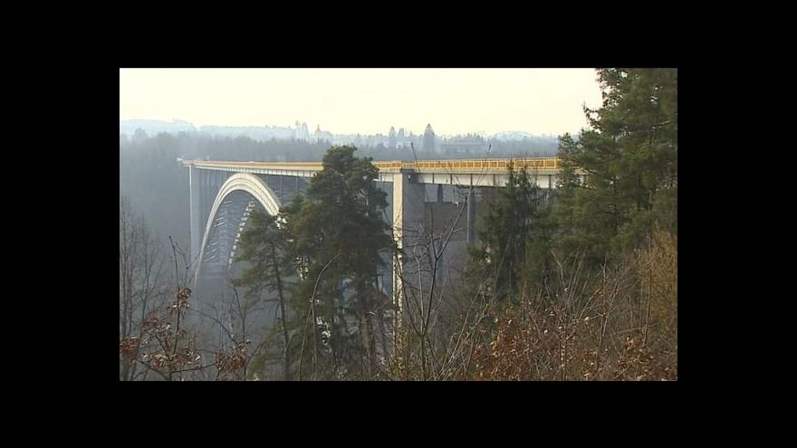 Video Havarijní stav Žďákovského mostu