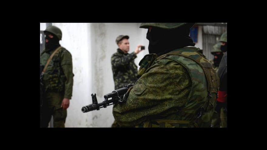 Video Události: Civilisti na Krymu poprvé pod palbou