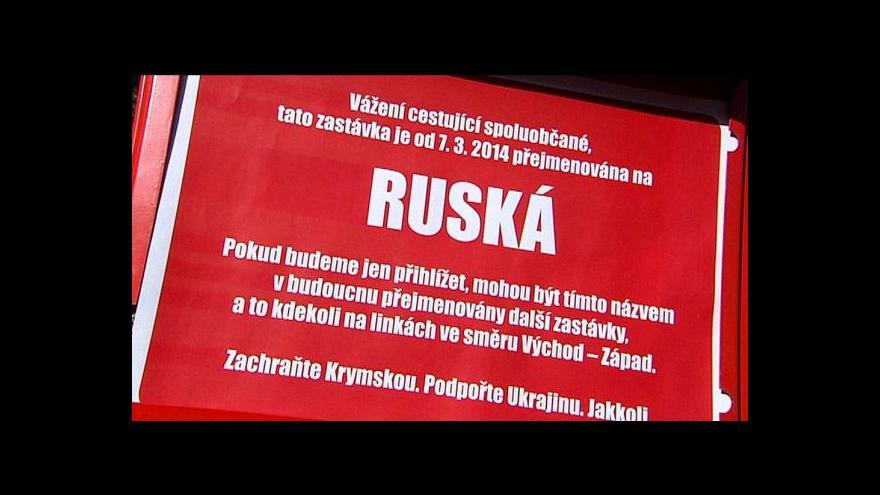 Video Rusové i Ukrajinci jsou častými obyvateli českých měst
