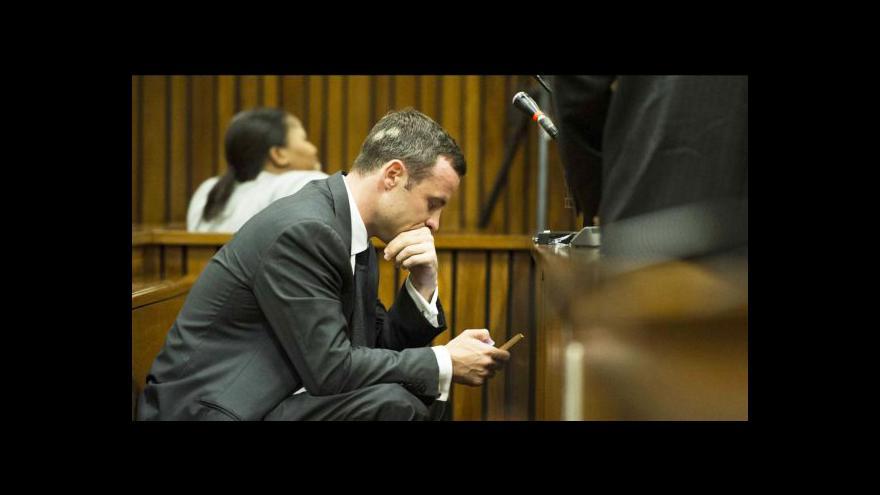Video Pátý den soudu s Pistoriusem